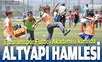BB Erzurumspor Futbol Akademisi kuruldu