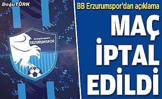 BB Erzurumspor'un maçı iptal