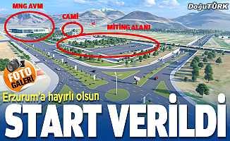 Büyükşehir'den Erzurum'a güzel bir hizmet daha