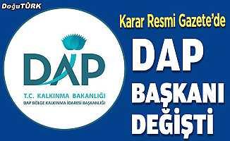 DAP Başkanı değişti; İşte yeni başkan!