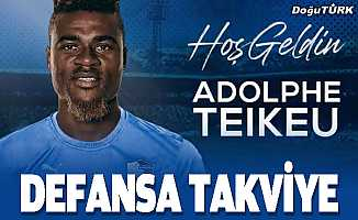 Erzurumspor, Adolphe Teikeu'yu transfer etti