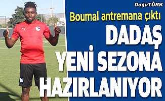 Erzurumspor'da yeni sezon hazırlıkları sürüyor