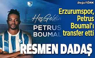 Erzurumspor, Petrus Boumal'ı transfer etti