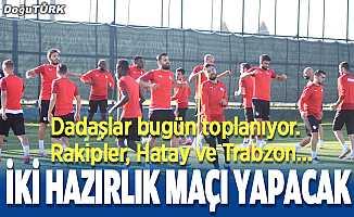 Erzurumspor, Trabzonspor ve Hatayspor'la hazırlık maçı yapacak