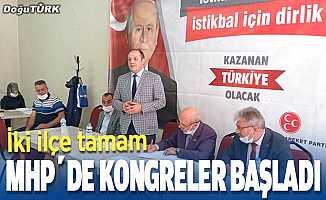 MHP'de kongreler başladı