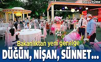 Türkiye genelinde düğün salonları denetlenecek