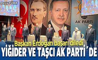 Yiğider ve Taşcı AK Parti'ye katıldı