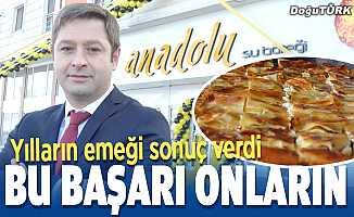 Yılların emeği sonuç verdi; Erzurum'un su böreği marka oldu