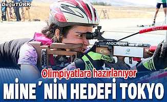 Milli biatloncu Mine Kılıç'ın hedefi Tokyo Olimpiyatları
