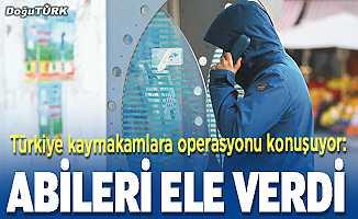 Türkiye kaymakamlara operasyonu konuşuyor: Abileri ele verdi
