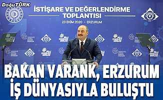 Bakan Varank, Erzurum iş dünyasıyla buluştu