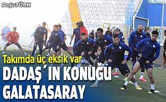 BB Erzurumspor Galatasaray'ı konuk ediyor