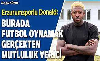 Donald: Erzurumsporçok büyük bir camia