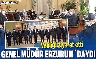 Emniyet Genel Müdürü Aktaş'tan Erzurum Valiliğine ziyaret