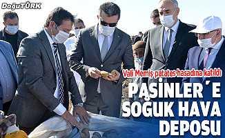 Erzurum'da sertifikalı patates hasadına başlandı