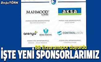 Erzurumspor'a yeni sponsorlar
