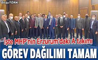 MHP'de görev dağılımı yapıldı