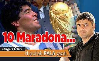 10 Maradona…
