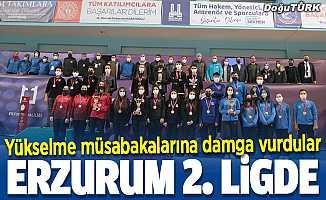 Curlingde 2. Lig'e yükselme müsabakaları Erzurum'da tamamlandı