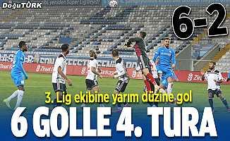 Dadaş'tan 3. Lig ekibine yarım düzine gol