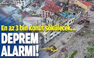 Deprem alarmı!