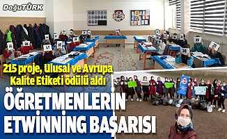 Erzurum'da öğretmenlerin eTwinning başarısı