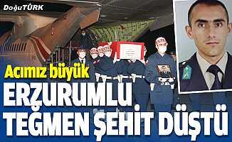Erzurumlu Teğmen şehit düştü