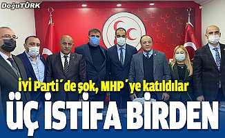 İYİ Parti'de istifa şoku, MHP'ye katıldılar