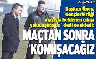 BB Erzurumspor çıkışa geçmeyi hedefliyor