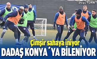 BB Erzurumspor, Konyaspor maçı hazırlıklarını sürdürüyor