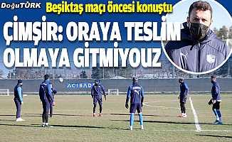Erzurumspor, Beşiktaş maçını kazanarak yükselişe geçmeyi hedefliyor