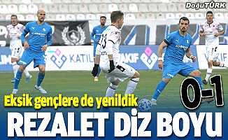Erzurumspor dibe vurdu: 0-1