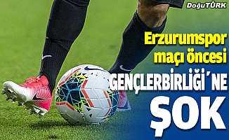 Erzurumspor maçı öncesi Gençlerbirliği'nde şok gelişme