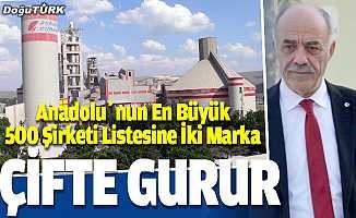 ERÇİMSAN Holding'ten Anadolu'nun En Büyük 500 Şirketi Listesine İki Marka