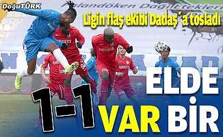 Ligin flaş ekibi Dadaş'a tosladı: 1-1