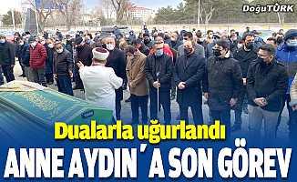 MHP'li Kamil Aydın'ın annesi son yolculuğa uğurlandı