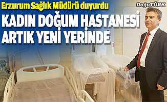 Nenehatun Kadın Doğum Hastanesi yeni yerinde…