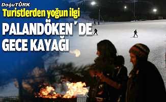 Palandöken'e gelen turistlerden 'gece kayağı'na yoğun ilgi
