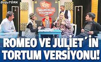Romeo ve Jüliet'in Tortum versiyonu!