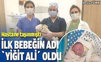 Yeni Kadın Doğum Hastanesi'nin ilk bebeği dünyaya geldi