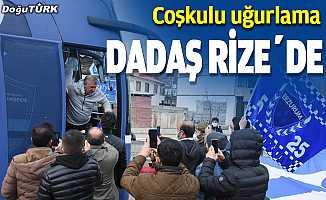 Büyükşehir Belediye Erzurumspor Rize'ye gitti