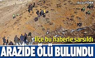 Erzurum'da kaybolan kişi dağlık arazide ölü bulundu