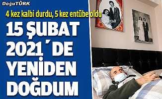 Erzurumlu 65 yaşındaki Şadi Karaç, Kovid-19'la 136 günlük savaşını kazandı