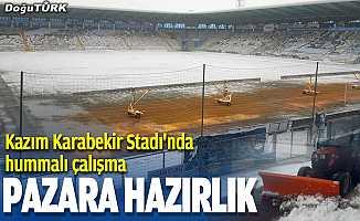 Kazım Karabekir Stadı pazara hazırlanıyor