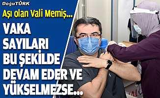 Vali Memiş'ten aşı daveti