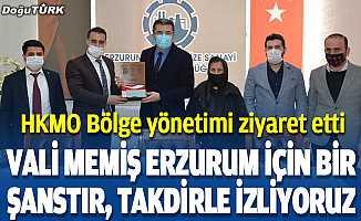 Yıldırım: Vali Memiş Erzurum için bir şanstır, çalışmalarını takdirle izliyoruz