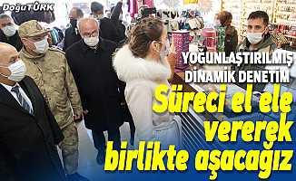 """Erzurum'da """"yoğunlaştırılmış dinamik denetim"""" yapıldı"""