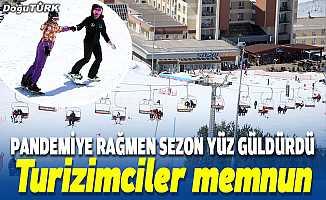 Kayak sezonu yüz güldürdü