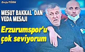 Mesut Bakkal'dan veda mesajı