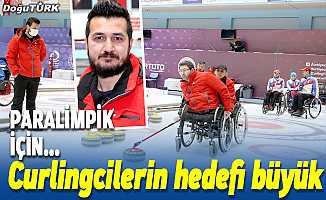 Milli curlingcilerin hedefi büyük